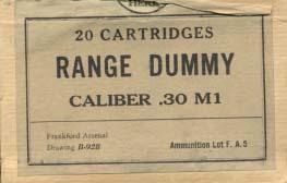 Dummy - nabój treningowy (ćwiczebny)
