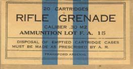 Grenade - do wystrzeliwania granatów nasadkowych