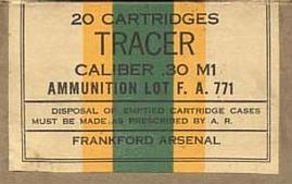 Tracer – pocisk smugowy, wskaźnikowy